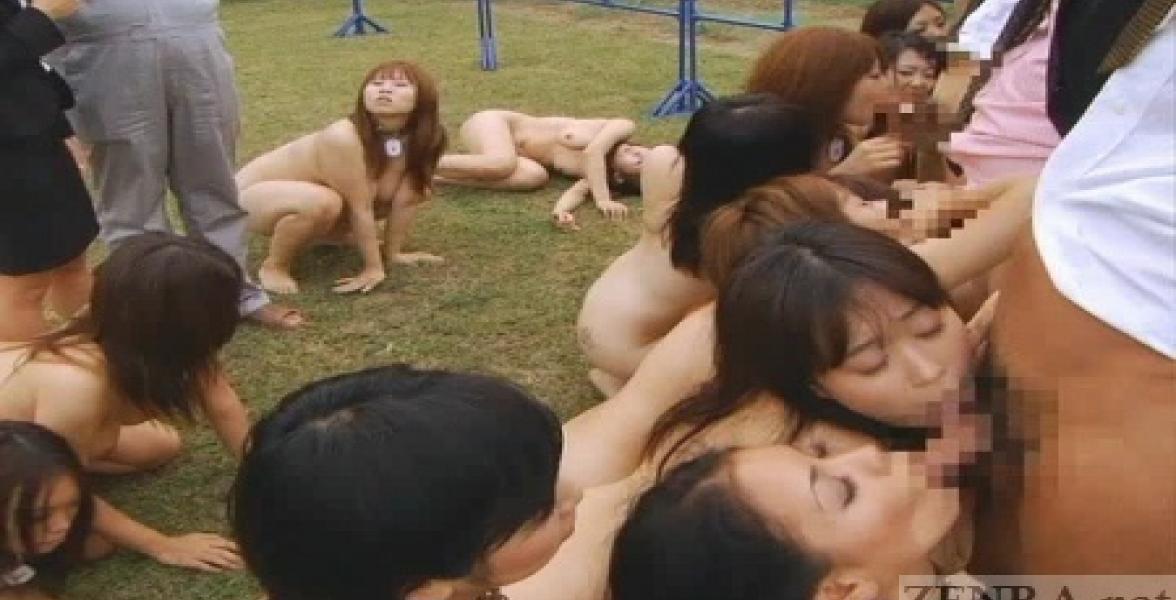Japanese Anal Gangbang Slave