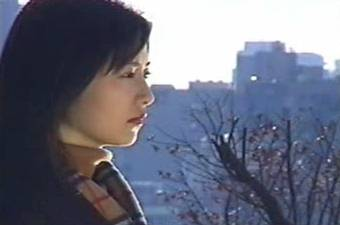 Azumi Kawashima gazes thither