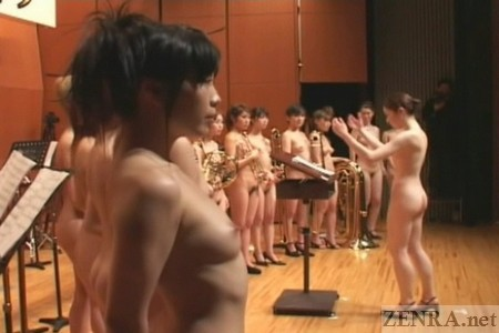 The stark naked Japanese orchestra