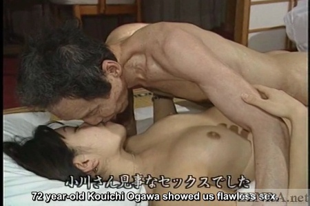 Elderly man sex with young escort