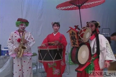 Bizarre Japanese traditional band