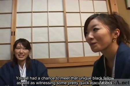 Japanese amateurs interviewed about CFNM experience