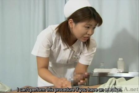 Japanese handjob hospital nurse