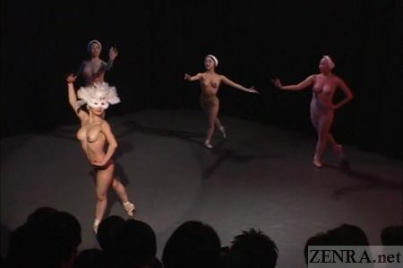 Zenra Naked Ballet 54
