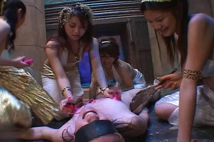 group asian girl naked