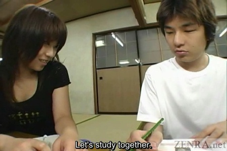 Japanese couple group study