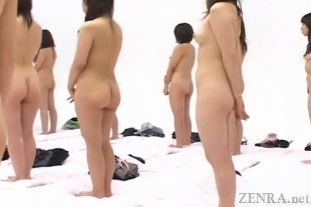 250 nudist Japanese women from behind