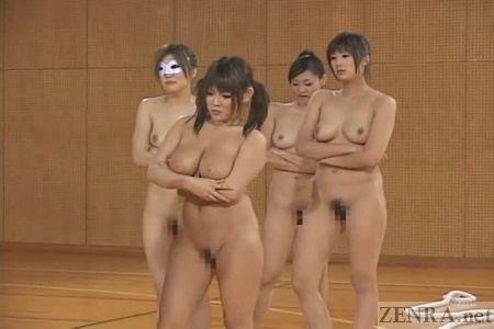 Nude japaneese sports