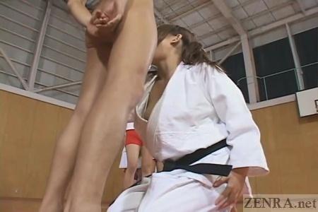 Bodybuilder female athlete sex machine