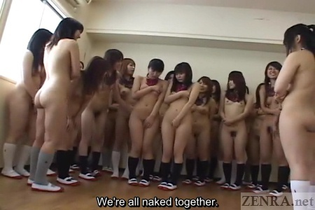 Naked japanese school girl men nude apologise