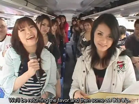 Japanese bus tour with Maria Ozawa