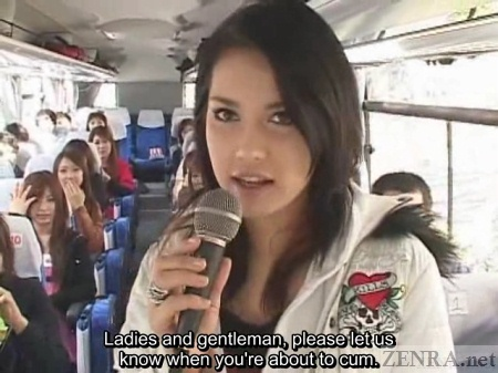 Maria Ozawa hosts bus tour