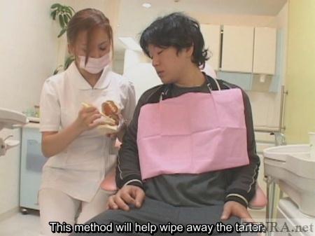 Japanese teeth cleaning seminar
