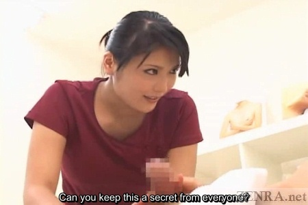 Masseuse in Japan gives secret handjob