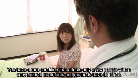 Japanese woman in hospital
