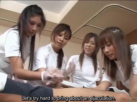 Asian handjob training