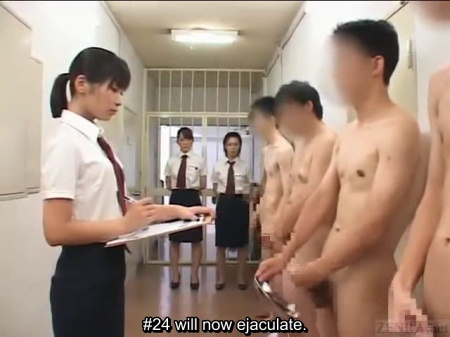 Japanese masturbation lineup
