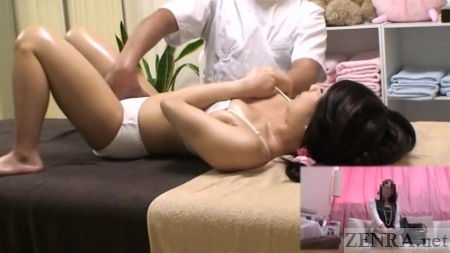 Asian schoolgirls massage