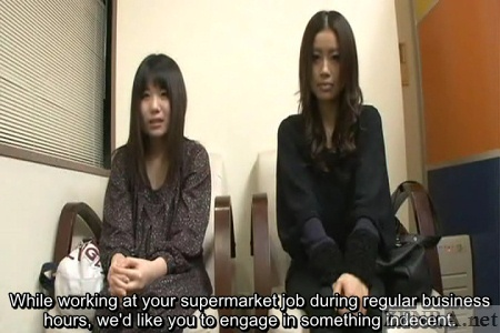 Japanese supermarket interview