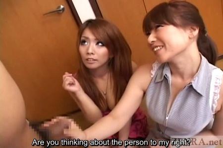 Subtitled uncensored japanese gyaru bondage ball gag teasing 9