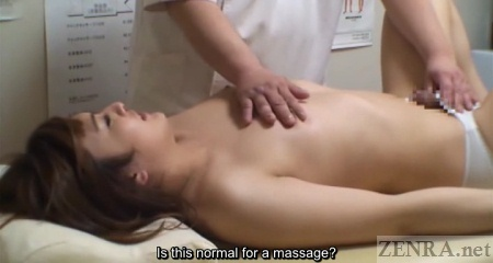image Subtitled uncensored classic japanese av blowjob and titjob