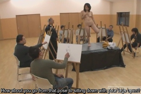 Videos nude models posing art class situation familiar