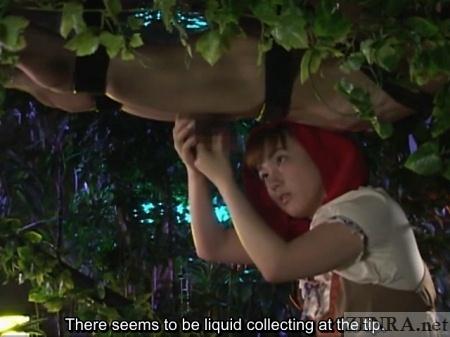 Bizarre forest handjob with Rin Tomosaki