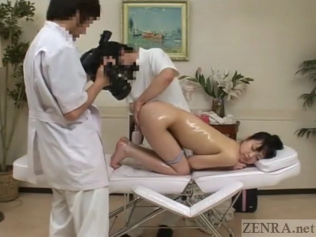 Subtitled cfnm japanese female doctor gives patient handjob 3