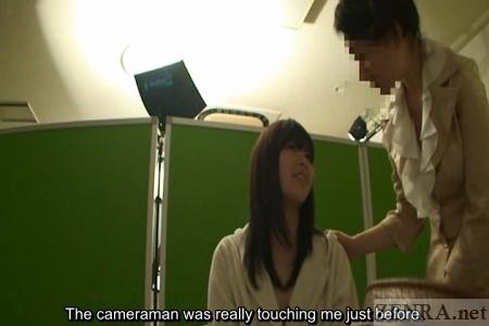 Japanese bikini model talks about touching