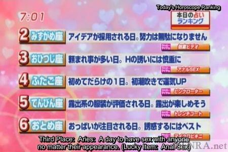 Lucky Japanese horoscope reading