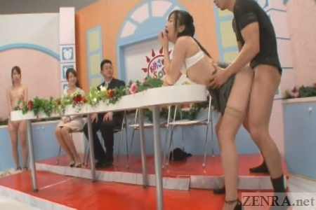 Sex show tve japan apologise
