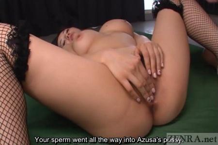 Azusa Nagasawa emits extreme horniness