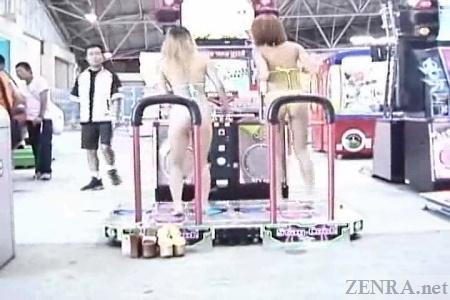 String bikini DDR in Japan
