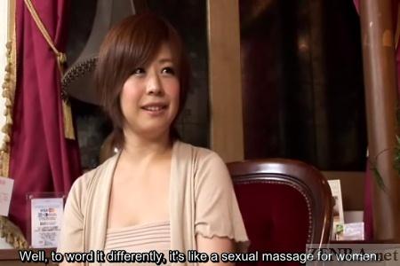 Curvy new customer at massage clinic