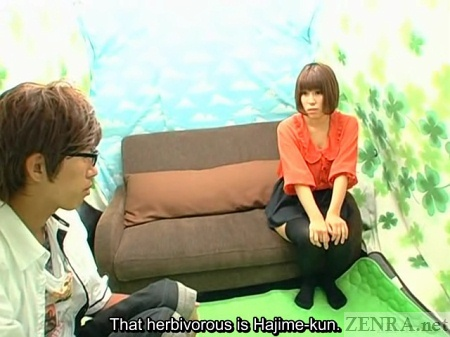 Herbivorous Man meets Japanese woman