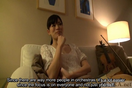 Hotel interview about orchestra