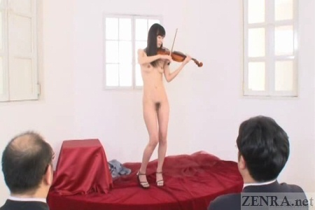 CMNF nudist recital