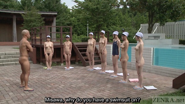 Japanese girl nude pool group sorry, this