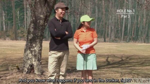 Japanese AV golf challenge
