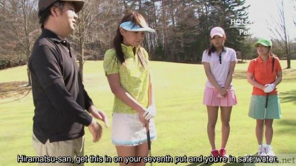 Japanese female golf tournament