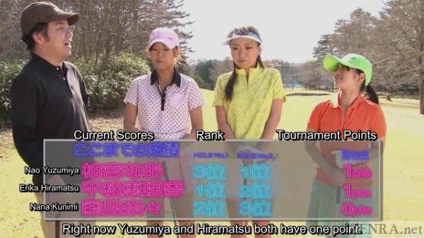 Japanese golfers assemble
