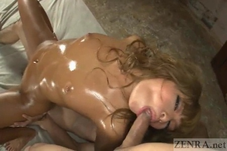 Blowjob threesome with cowgirl sex