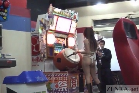Japanese nudist arcade dare