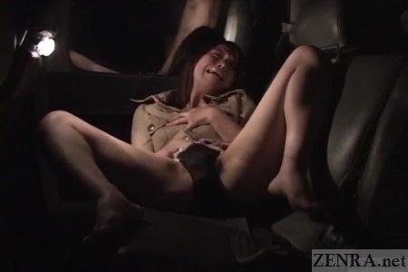 Japan car masturbation near haunted area
