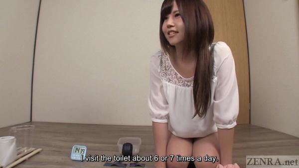 Japanese amateur pee challenge