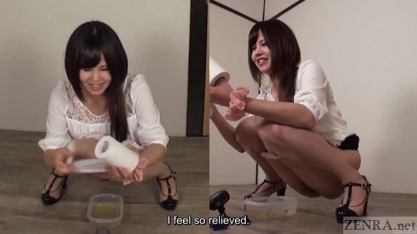Subtitled real japanese lesbians self shot exploration