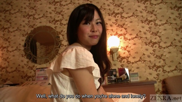 Love hotel with real amateur Japanese woman