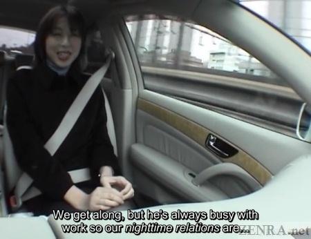 Car ride affair in Japan