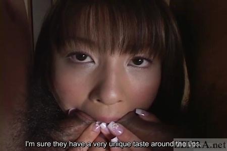 Subtitled busty japanese hiyori shiraishi magic wand play 4