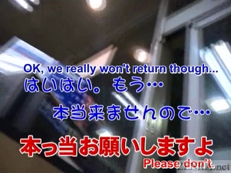 Scolded by Japanese gas station employee